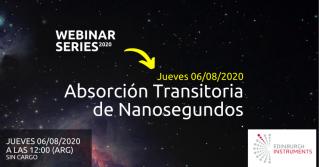 Webinar: Absorción transitoria de nanosegundos