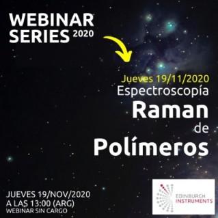 Webinar: Espectroscopía Raman de Polímeros
